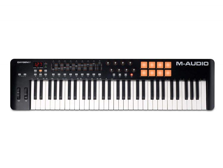 M-Audio Oxygen 61 IV : Notre avis sur ce super clavier maître !
