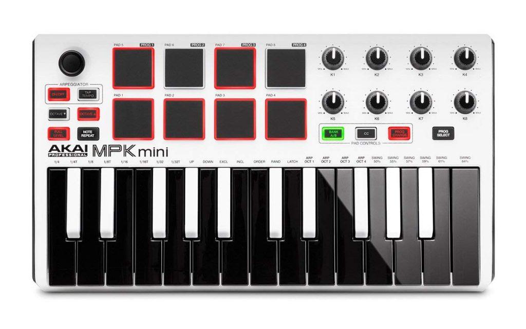 Akai Professional Mpk Mini Mk2 Test D Un Super Clavier Maître